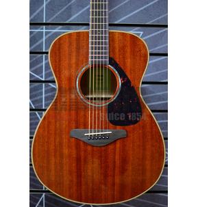 Yamaha FS850 Concert Natural Mahogany Acoustic Guitar