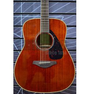 Yamaha FG850 Dreadnought Natural Mahogany Acoustic Guitar