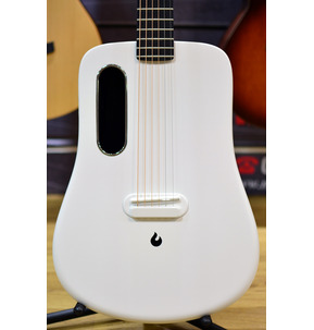 LAVA ME 2 Freeboost White Electro Acoustic Travel Guitar & Case