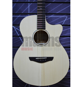 Faith FKV Naked Venus Cutaway Electro Acoustic Guitar Incl Gig Bag