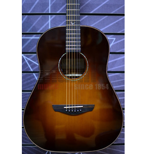Faith FRESB45 Classic Burst Drop Dreadnought Electro Acoustic Guitar & Hard Case