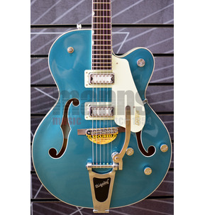 Gretsch Electromatic G5410T Tri-Five Two-Tone Ocean Turquoise/Vintage White Electric Guitar