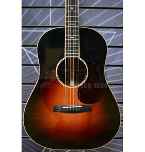 Huss & Dalton Slope-Shoulder DS-12 Slope Dreadnought Sunburst All Solid Acoustic Guitar & Case