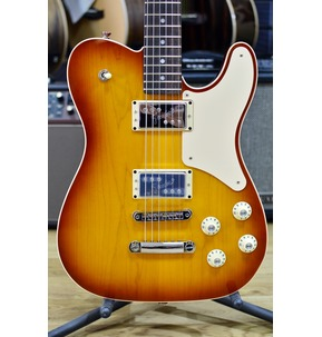 Fender 2018 Limited Edition Troublemaker Tele Deluxe, Ice Tea Burst, Rosewood