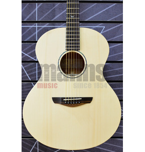 Faith Naked FKN Neptune Baby Jumbo Natural All Solid Acoustic Guitar & Case
