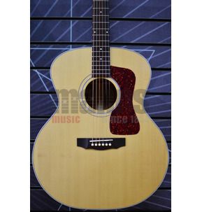 Guild USA F-40E Electro Acoustic Guitar, Natural
