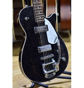 Gretsch G5265 Electromatic Jet Baritone With Bigsby, Black Sparkle
