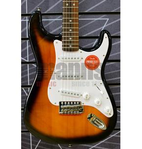 Fender Squier Bullet Strat Electric Guitar With Tremolo in Brown Sunburst