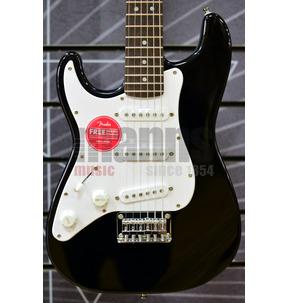Fender Squier Mini Stratocaster Black Left-Handed Short-Scale Electric Guitar