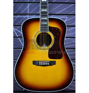 Guild USA D-55 Acoustic Guitar, Antique Sunburst