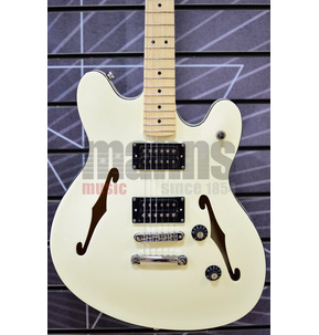 Fender Squier Affinity Series Starcaster Olympic White Electric Guitar