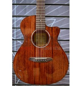 Rathbone No.1 Baby Concert Natural Travel Acoustic Guitar & Case
