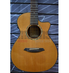 Rathbone No.1 R1CRCE Baby Concert Electro Acoustic Travel Guitar