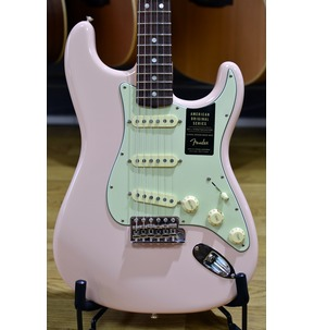 Fender American Original '60s Stratocaster, Shell Pink, Rosewood
