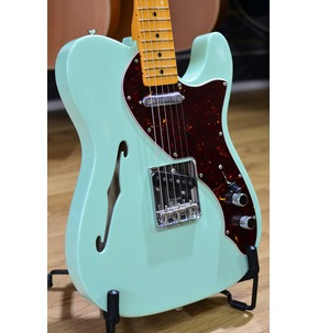 Fender American Original 60s Telecaster Thinline, Surf Green, Maple