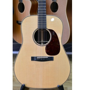 Huss & Dalton Dreadnought DR-H Dreadnought Natural All Solid Acoustic Guitar & Case