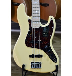 Fender American Original '70s Jazz Bass, Vintage White, Maple