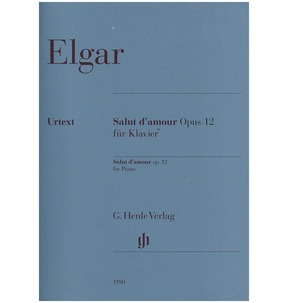Elgar - Salut d'amour Opus 12 for Piano (Henle)