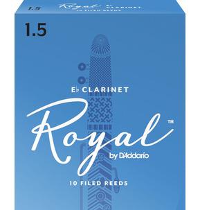 Rico Royal Eb Clarinet 1 1/2 Reeds box 10