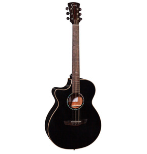 Faith FECV Eclipse Venus Left Handed Cutaway Electro Acoustic Guitar & Hard Case