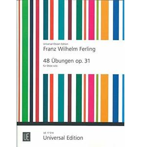 48 Studies for Oboe - Ferling