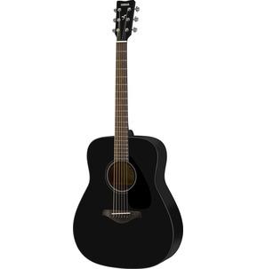 Yamaha FG800 Dreadnought Black Acoustic Guitar