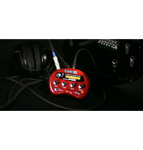 Line 6 Pocket POD - Portable Amp, Cab And Multi-Effects Processor