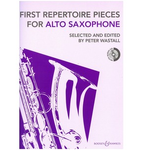First Repertoire Pieces Revised Edition with CD Alto Saxophone
