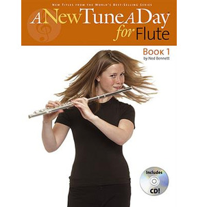 A New Tune A Day For Flute - Book 1 - Book/CD