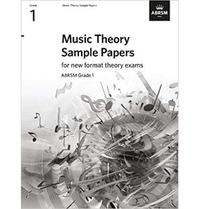 ABRSM Music Theory Sample Papers - Grade 1 (2020)