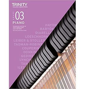 Trinity Piano Exam Pieces and Exercises 2021-2023 - Grade 3