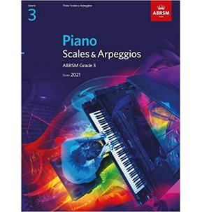 ABRSM Piano Scales & Arpeggios 2021+ Grade 3