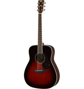 Yamaha FG830 Dreadnought Tobacco Brown Sunburst Acoustic Guitar