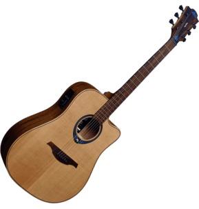 Lag Tramontane Hyvibe 10 THV10DCE Electro Acoustic Smart Guitar