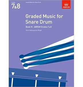 ABRSM Graded Music for Snare Drum, Book 4 - Grades 7 & 8