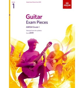 ABRSM Guitar Exam Pieces from 2019 - Various Grades