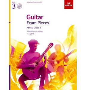 ABRSM Guitar Exam Pieces from 2019, Grade 3 with CD