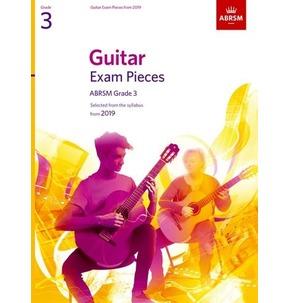 ABRSM Guitar Exam Pieces from 2019, Grade 3