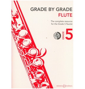 Grade By Grade for Flute CD Included (Boosey & Hawkes) Grade 5