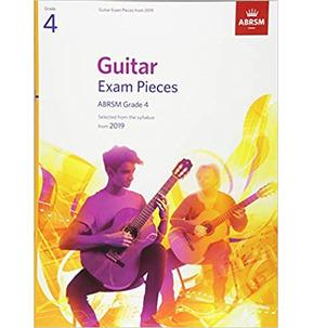 ABRSM Guitar Exam Pieces from 2019, Grade 4