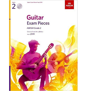 ABRSM Guitar Exam Pieces from 2019, Grade 2 with CD