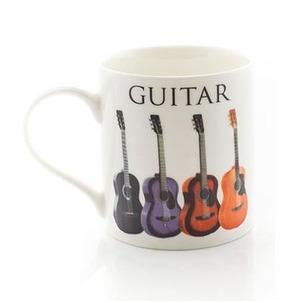 Music Words Mug - Acoustic Guitar