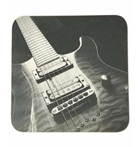 Electric Guitar Mugmats - Black and White