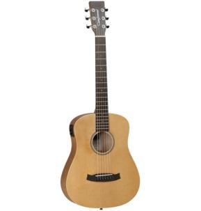 Tanglewood Winterleaf TW2 T SE Electro Acoustic Travel Guitar & Gig Bag