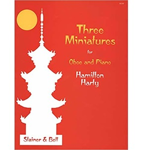 Three Minatures For Oboe and Piano - Harty