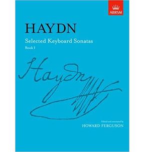 Haydn: Selected Keyboard Sonatas, Book 1