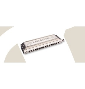 Hohner Super 64 Performance Series Chromatic Harmonica