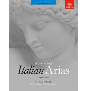 A Selection of Italian Arias 1600-1800 - Various