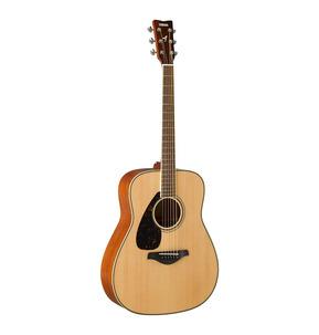 Yamaha FG820 Dreadnought Natural Left-Handed Acoustic Guitar