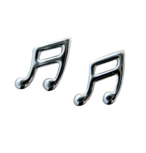 Sterling Silver Quavers/ Quaver Earrings